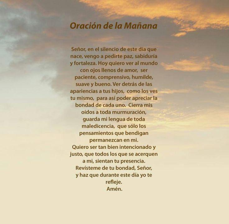 oracion de la manana newhairstylesformen2014