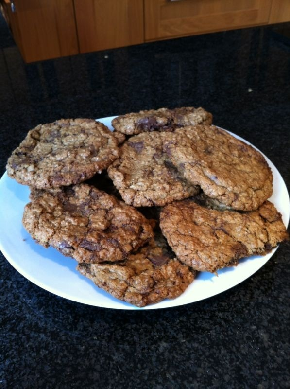 oatmeal and chocolate cookies are quite literally the best cookies ...