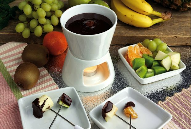 The Best Chocolate Fondue - ever dipped a hot pretzel in your fondue?