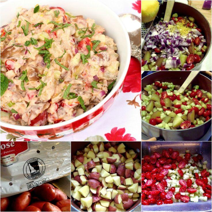 Tzatziki Potato Salad | Vegetables/Sides/Salads/Soups/Stews | Pintere ...