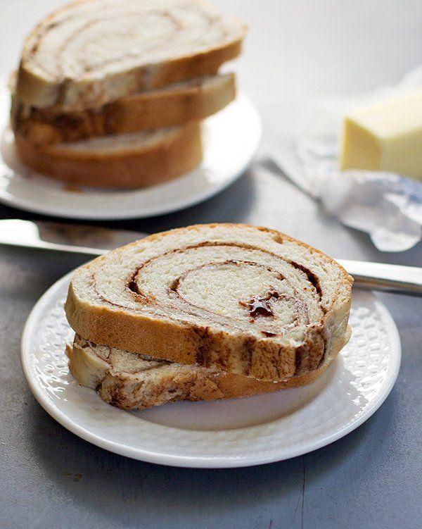 Homemade Cinnamon Swirl Bread. | Drool | Pinterest