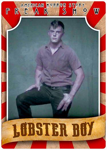 """AHS Freak Show"" Lobster Boy | The Dark Side of Geek ..."
