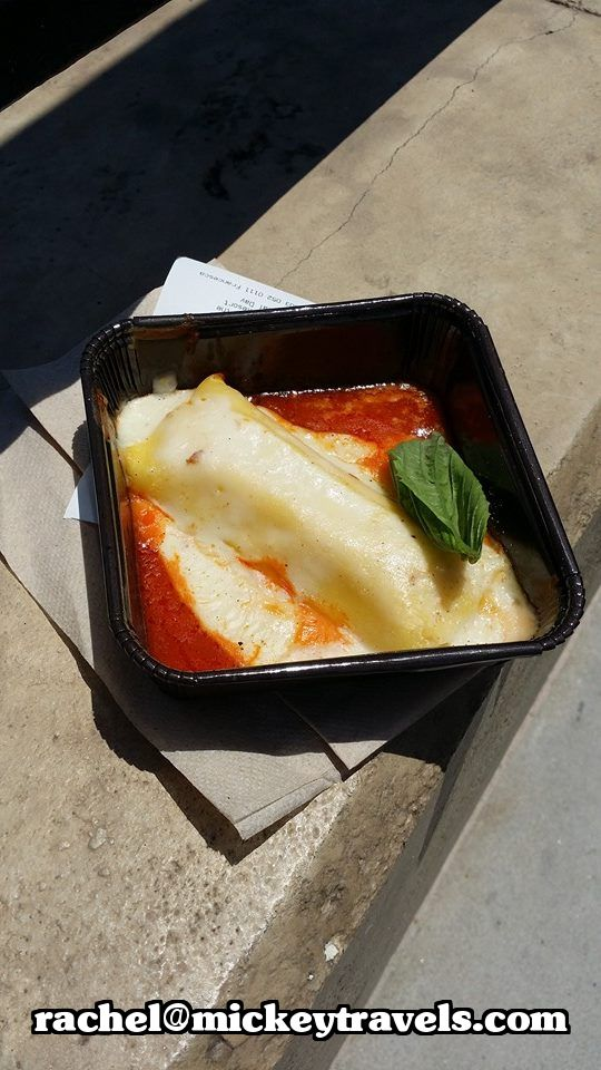 Three cheese manicotti – Egg pasta stuffed with ricotta, mozzarella ...