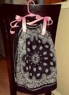 15 minute bandana dress!