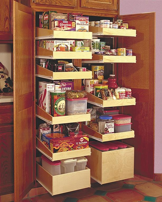 Pantry pull out shelving dream home ideas pinterest - Roll out shelving for pantry ...