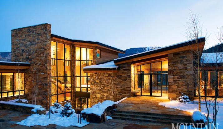 Modern mountain homes google search southwest home for Mountain contemporary architecture