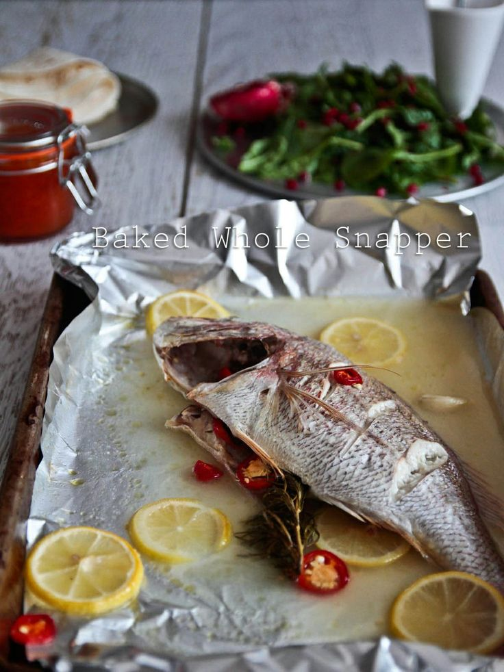 snapper-5-3 | Seafood | Pinterest