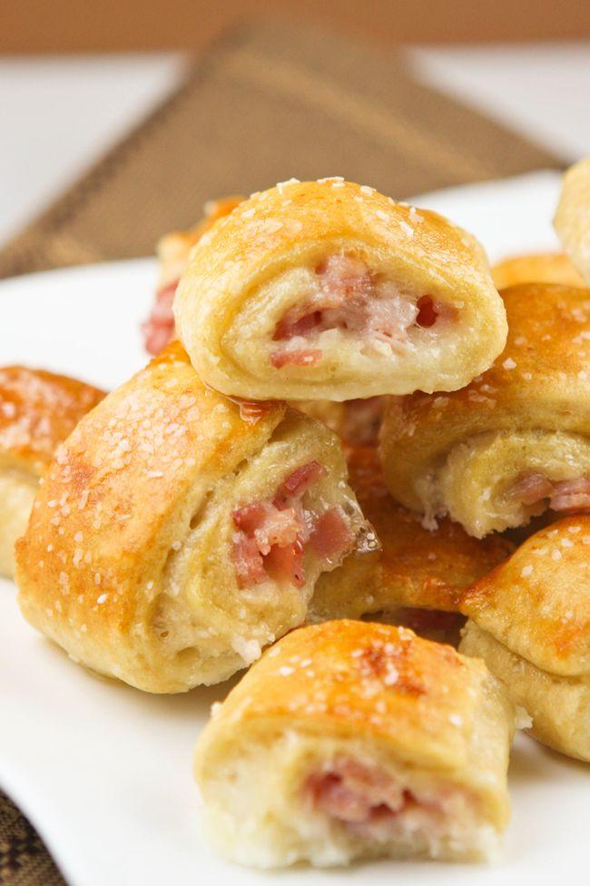ham & cheese pretzelbites.