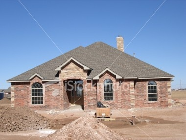 Brick with stone accent home pinterest for Houses with stone accents