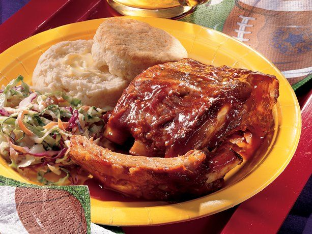 Slow Cooker Barbecued Ribs | Slow Cooker Ideas | Pinterest
