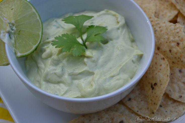 Skinny Creamy Avocado Dip   Recipe