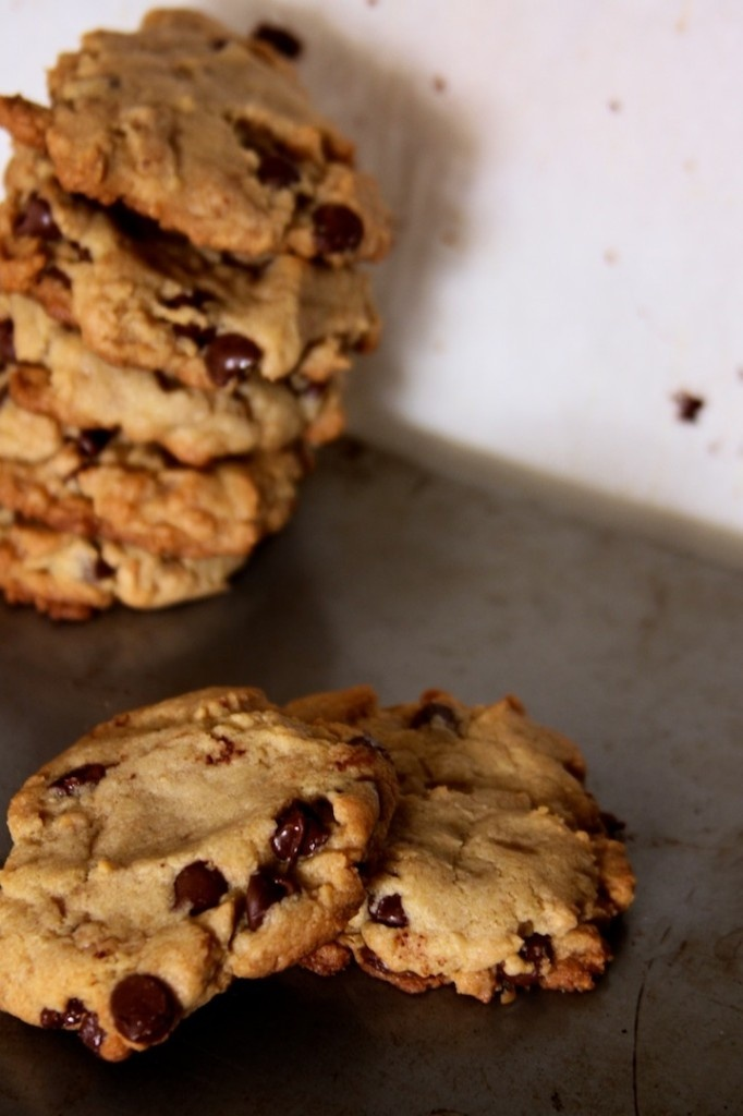 Almond toffee chocolate chip cookies | Baking Part Time posts | Pinte ...