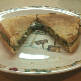 and avocado mixture butter your bread and toast as you would a grilled ...