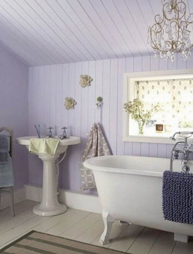 Shabby Chic Bathroom Ideas Interiors Salle De Bain Pinterest