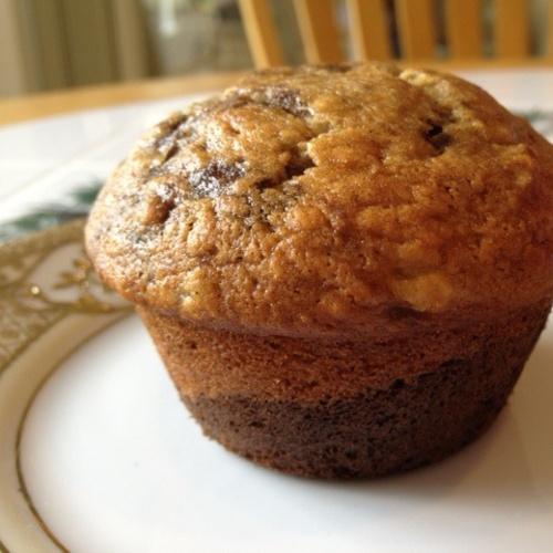 Chocolate banana cream cheese muffins | Recipes | Pinterest