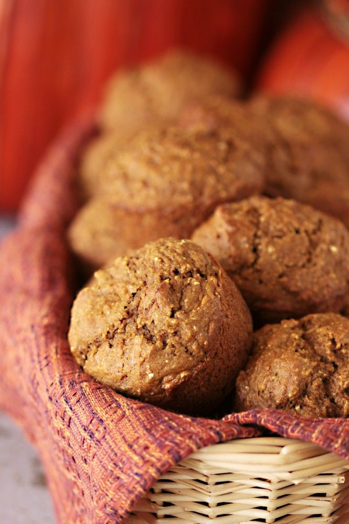 Lowfat Pumpkin Banana Bread Muffins (it would seem prudent to add ...