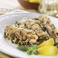 Greek Chicken and Spinach Casserole - instant brown rice, frozen ...
