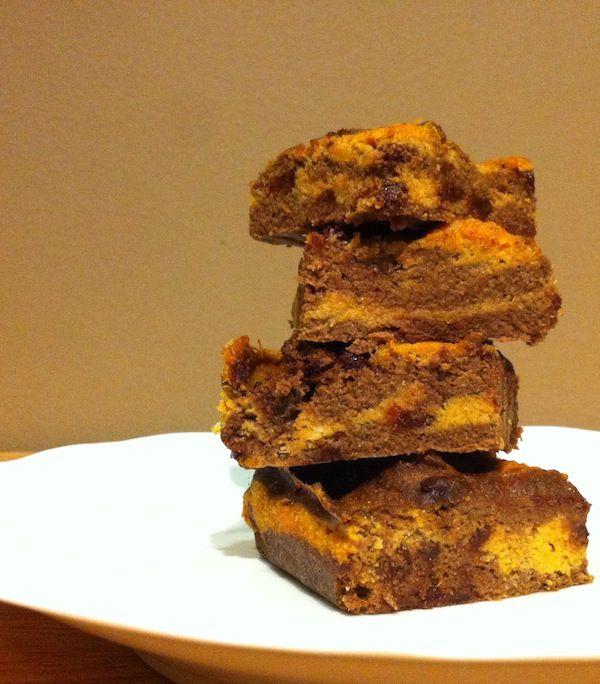 Pumpkin Swirl Brownies (Paleo & Gluten-Free) | Jaybird Blog