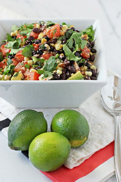 Southwestern black bean salad | Everyday Food | Pinterest