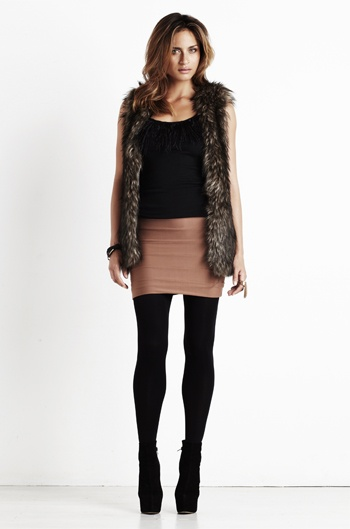 Winter dressing from Kookai - love this style and look for winter