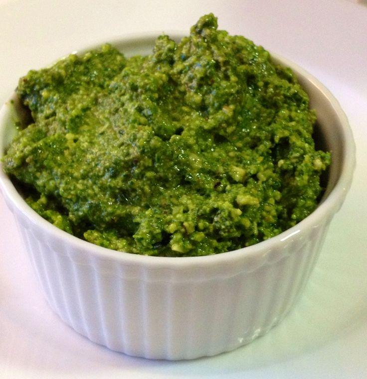 Arugula Walnut Pesto | Recipe