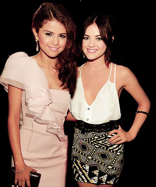 Selena Gomez & Lucy Hale | Celebrities | Pinterest