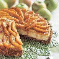 Warm Apple-Cornmeal Upside-Down Cake - Bon Appétit