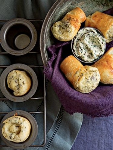 Herbed Popovers | yummers | Pinterest