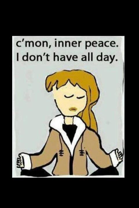 inner peace funny shiz pinterest
