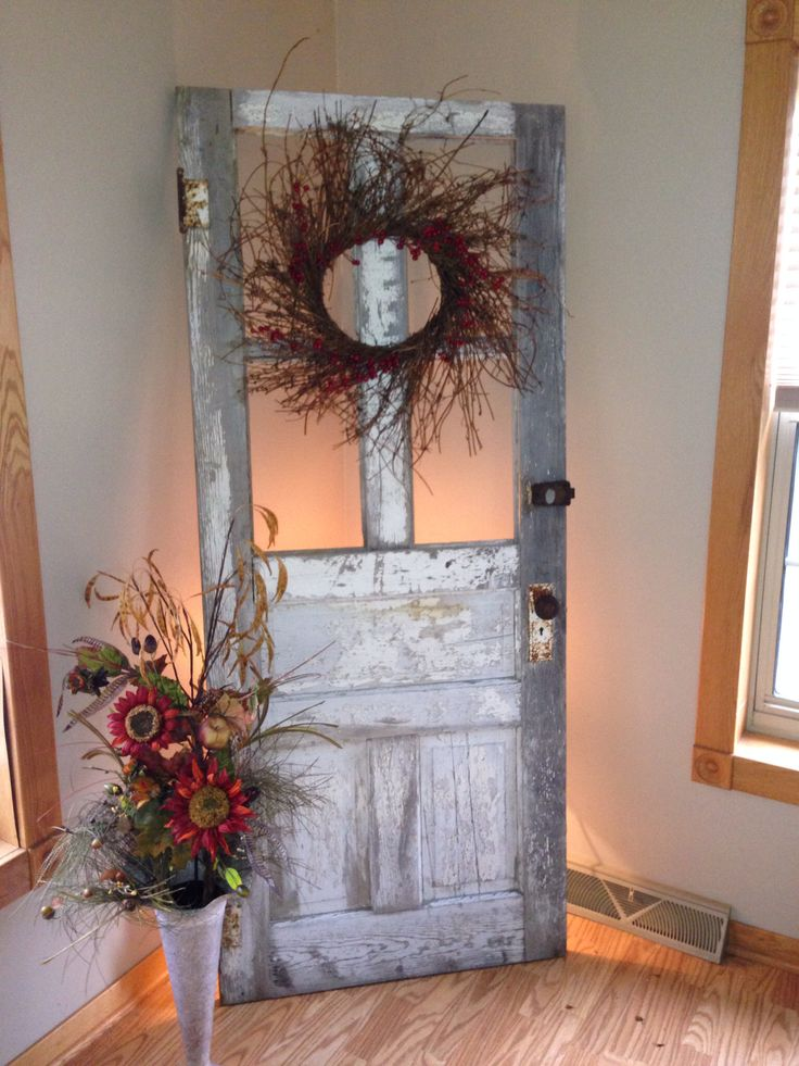 julie 39 s old door decor for the home pinterest