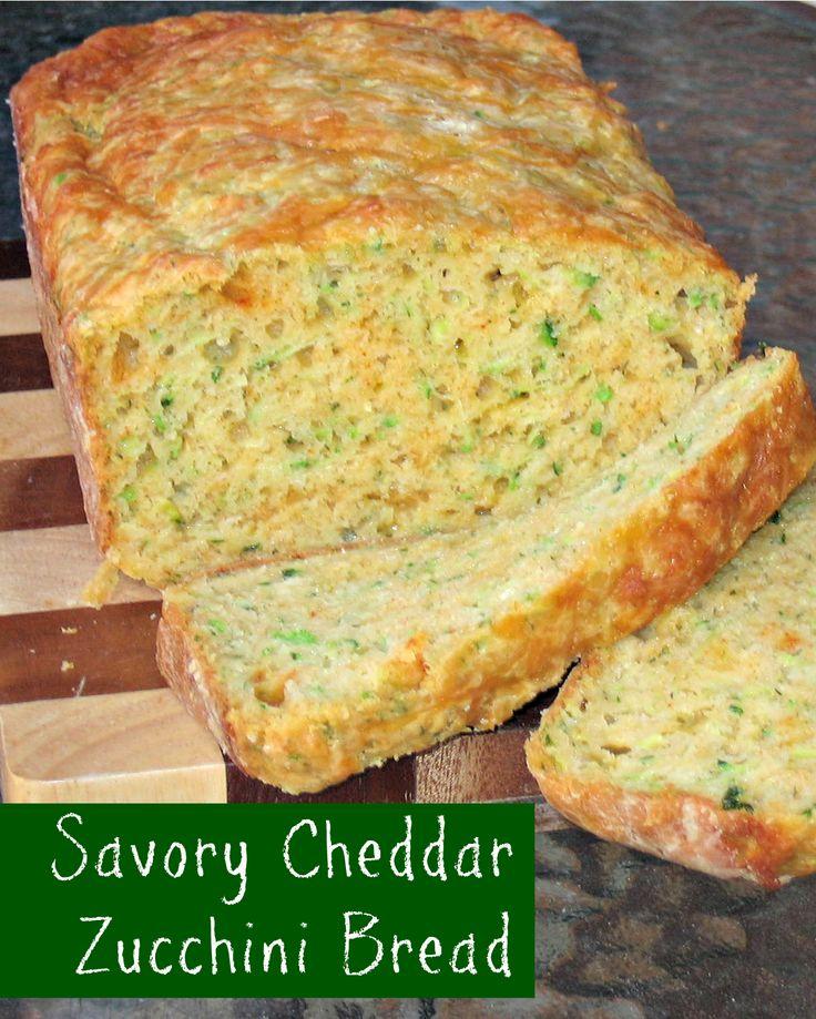 Zucchini Cheddar Bread Recipe — Dishmaps
