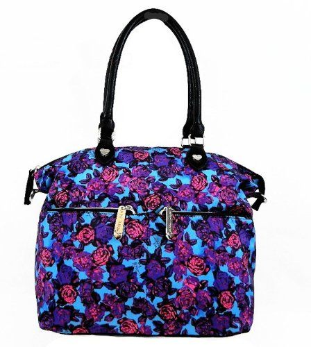 midnight express betsey johnson purse with bow