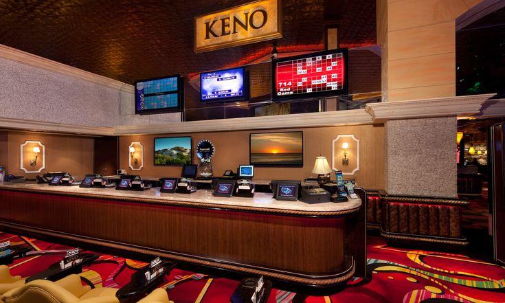 largest keno lounges in vegas