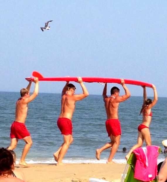 life guards at rehoboth beach