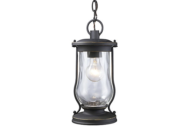 Willard Outdoor Pendant Light - kind of liking this one too