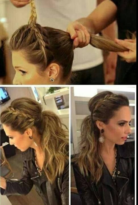 do it yourself hairstyle 4 my hair Pinterest