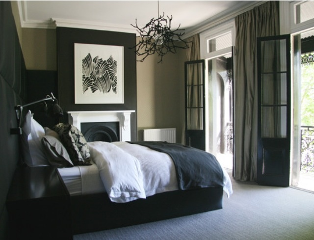 Excellent Black and White Bedrooms with Color Accents 640 x 489 · 87 kB · jpeg