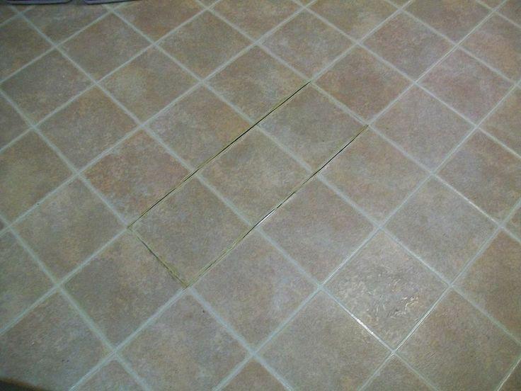 How to paint outdated linoleum floor for Paint linoleum tile floor