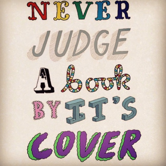 Cook Book Cover Quotes : Quotes about not judging a book by its cover bing images