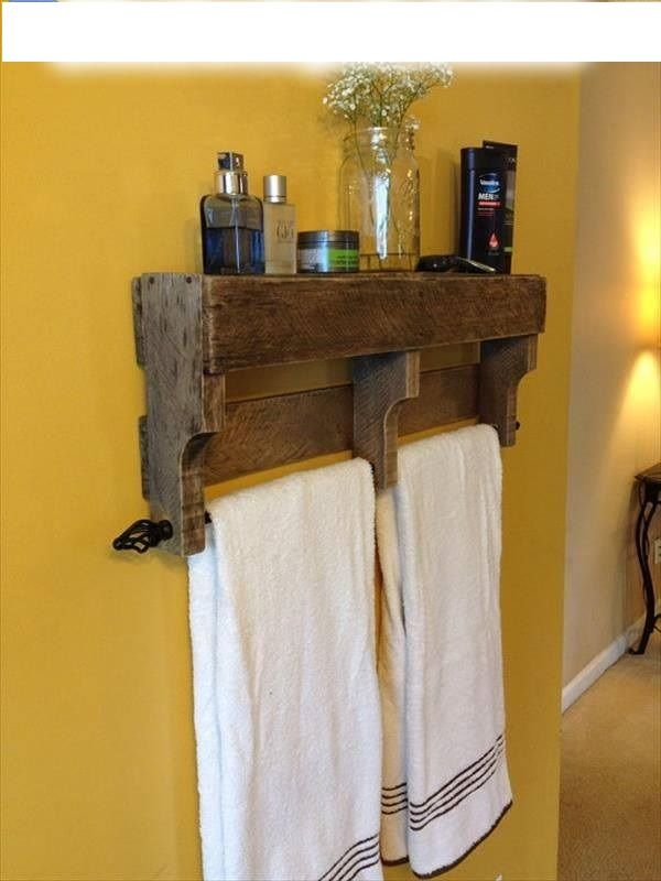 Organizador Cajones Baño:Palet organizador de baño