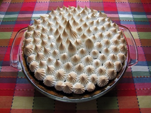 Chocolate S'more Pie Recipe — Dishmaps