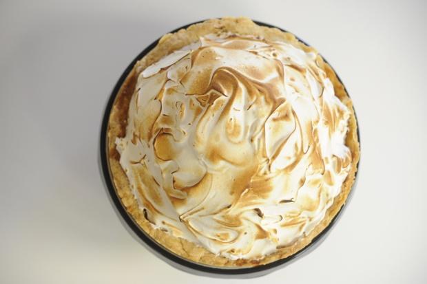 Deep Dish Pumpkin Meringue Pie | Cooking Pie | Pinterest