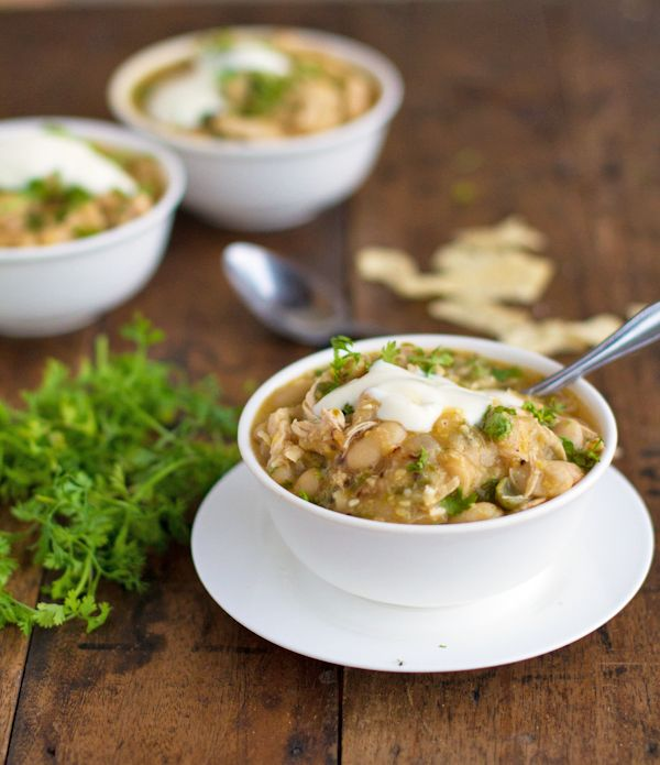 White Chicken Chili: This is one of my favorite chili's that I could ...