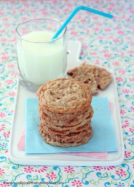 Butterscotch Blondie Oatmeal Cookies