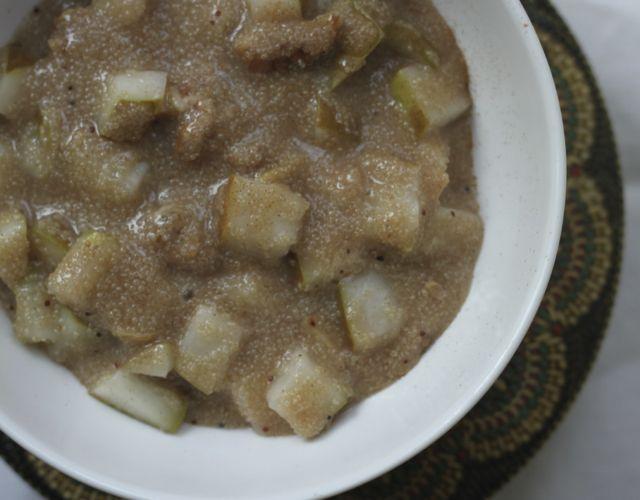 Amaranth Porridge with Pear & Ginger | Ayurveda Community Dump (clean ...