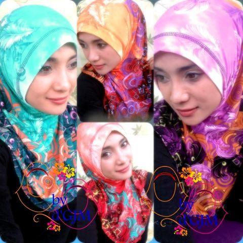 Jilbab syria kemoceng modis dan unik jilbab langsung pakai pinter