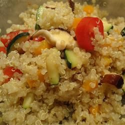 QUINOA WITH CHICKPEAS AND TOMATOES | Let thy food be thy medicine and ...