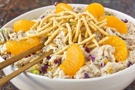 Cashew Chicken Salad Wraps | Recipe