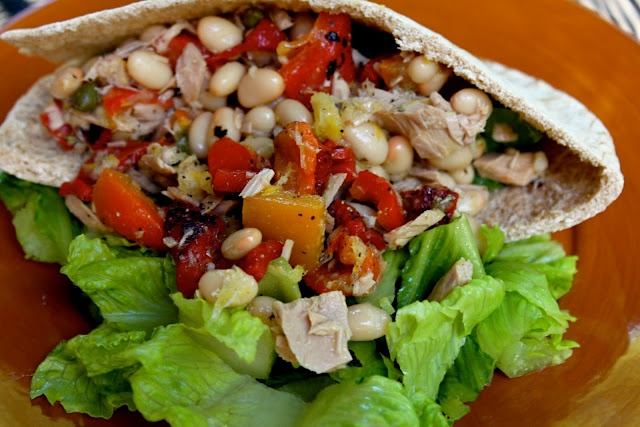 Tuna and white bean salad | Recipes | Pinterest