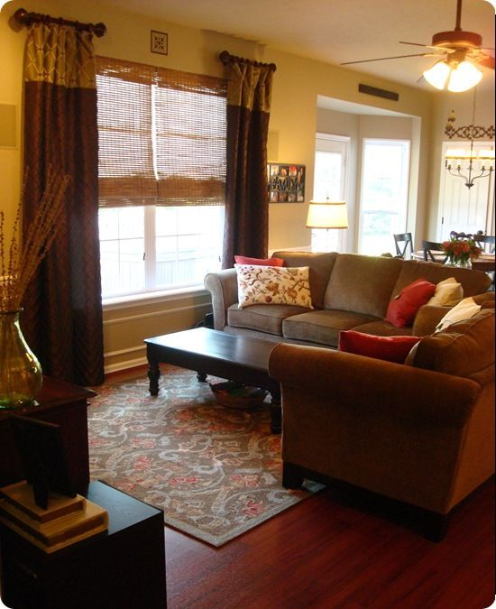 Our Warm And Cozy Family Room For The Home Pinterest